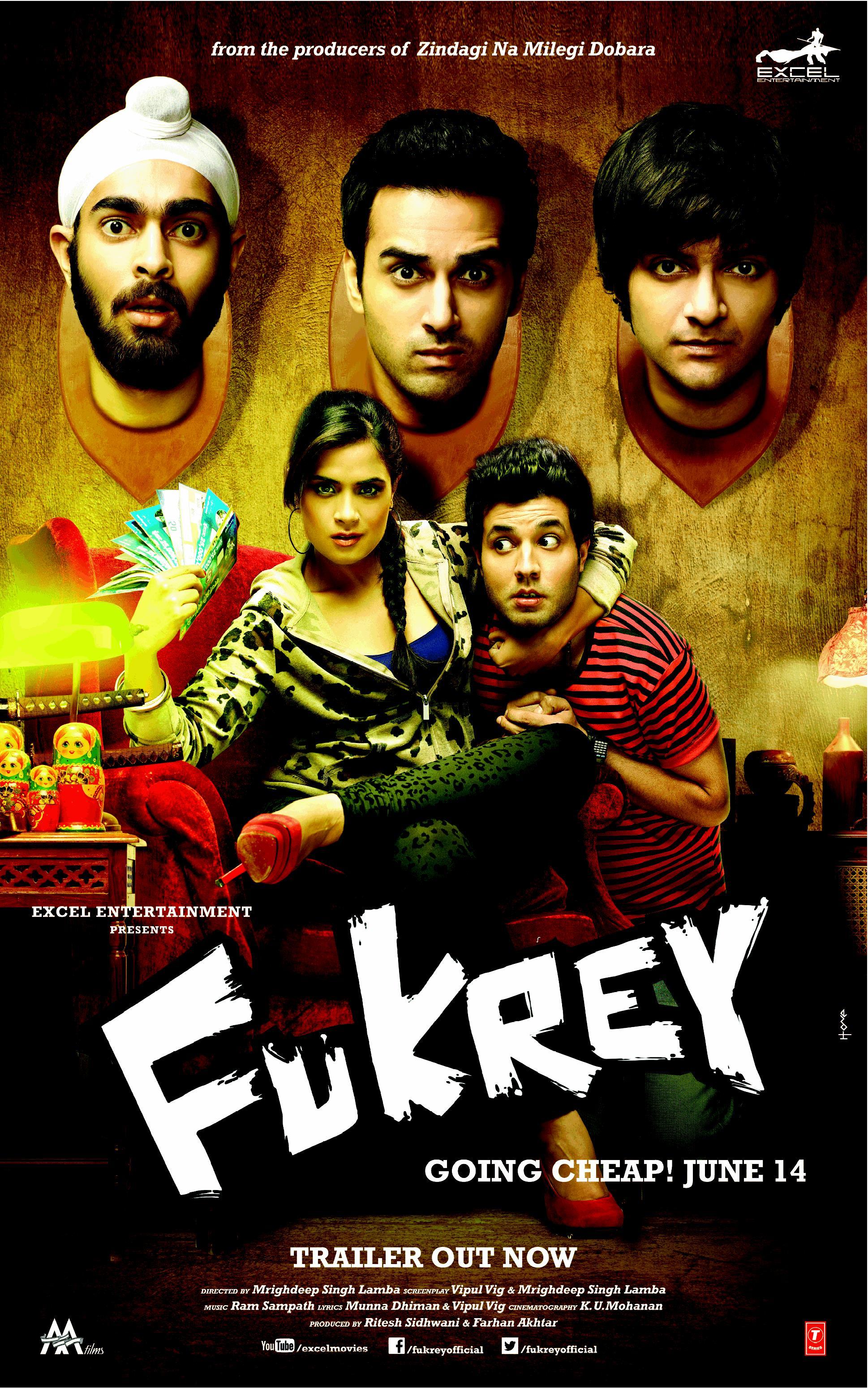 Fukrey (2013) - watch full hd streaming movie online free