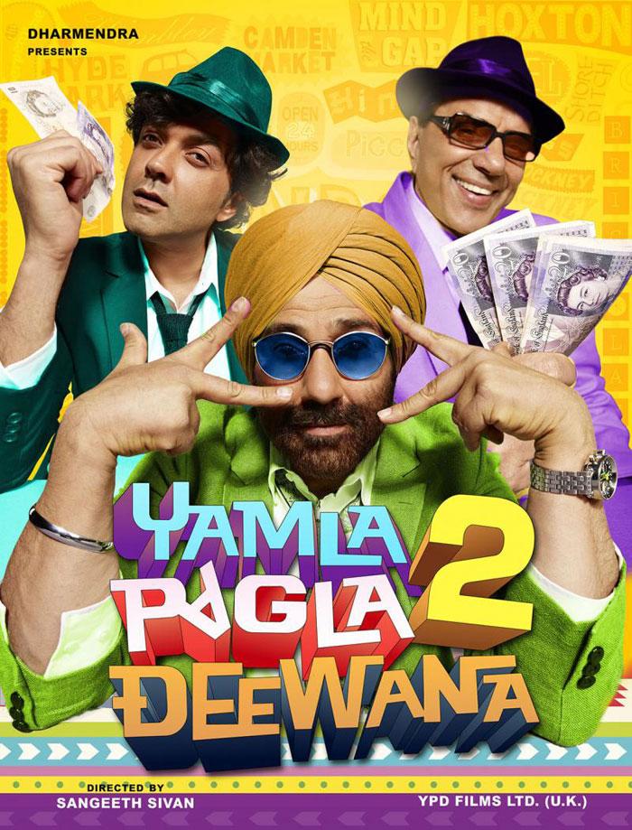 watch yamla pagla deewana 2 online free