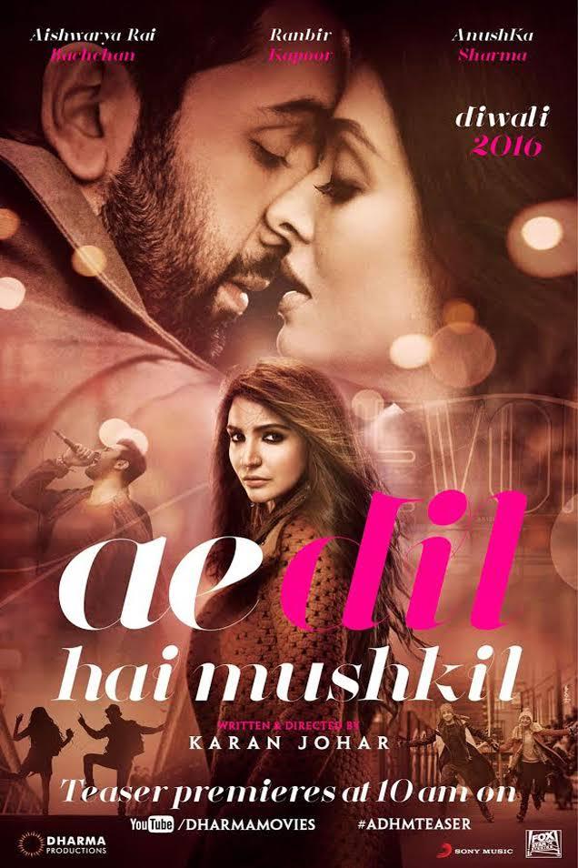 ae dil hai mushkil full movie online free hd