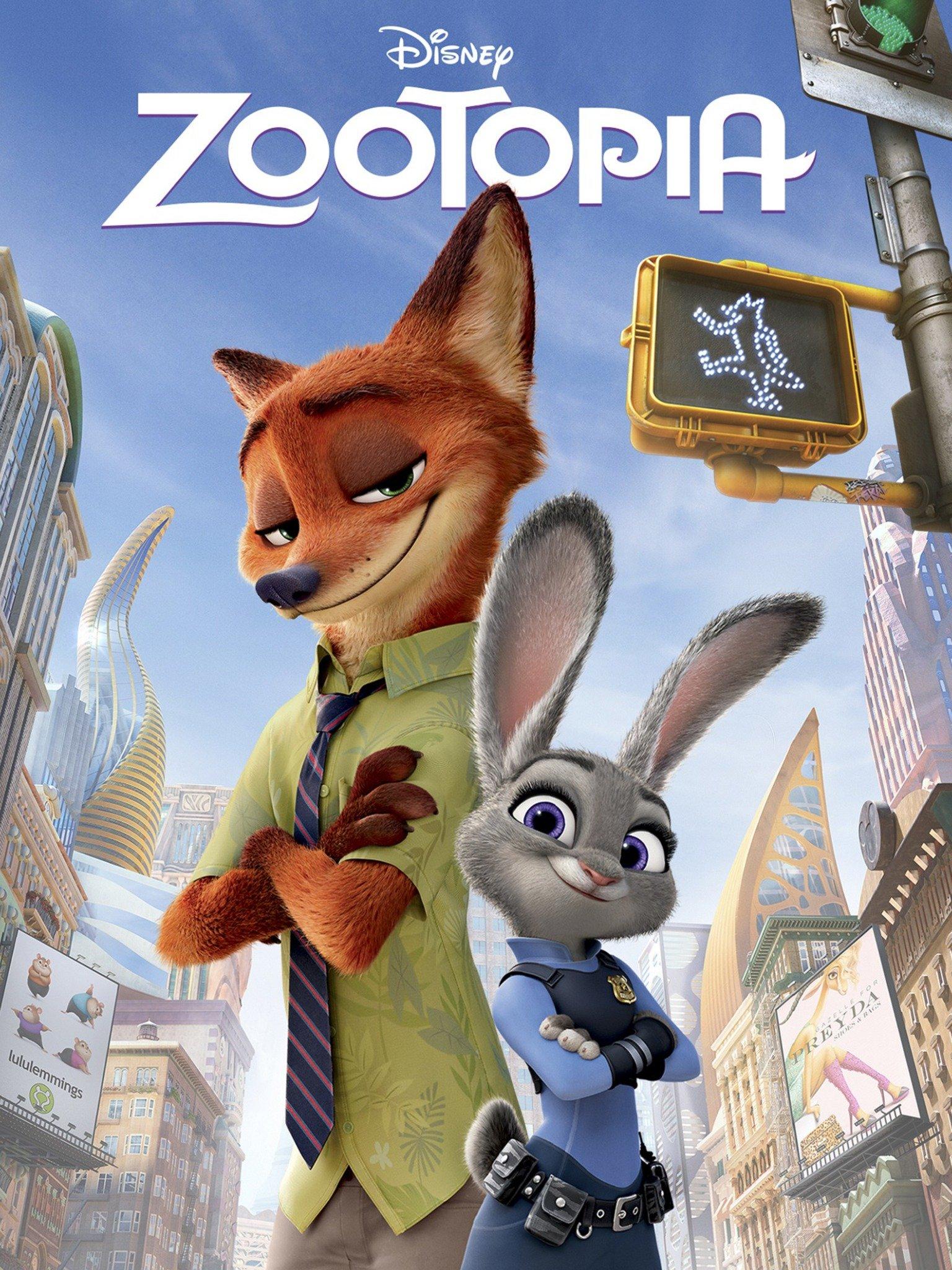 Zootopia (2016) ORG Hindi Dual Audio 480p BluRay ESubs 400MB