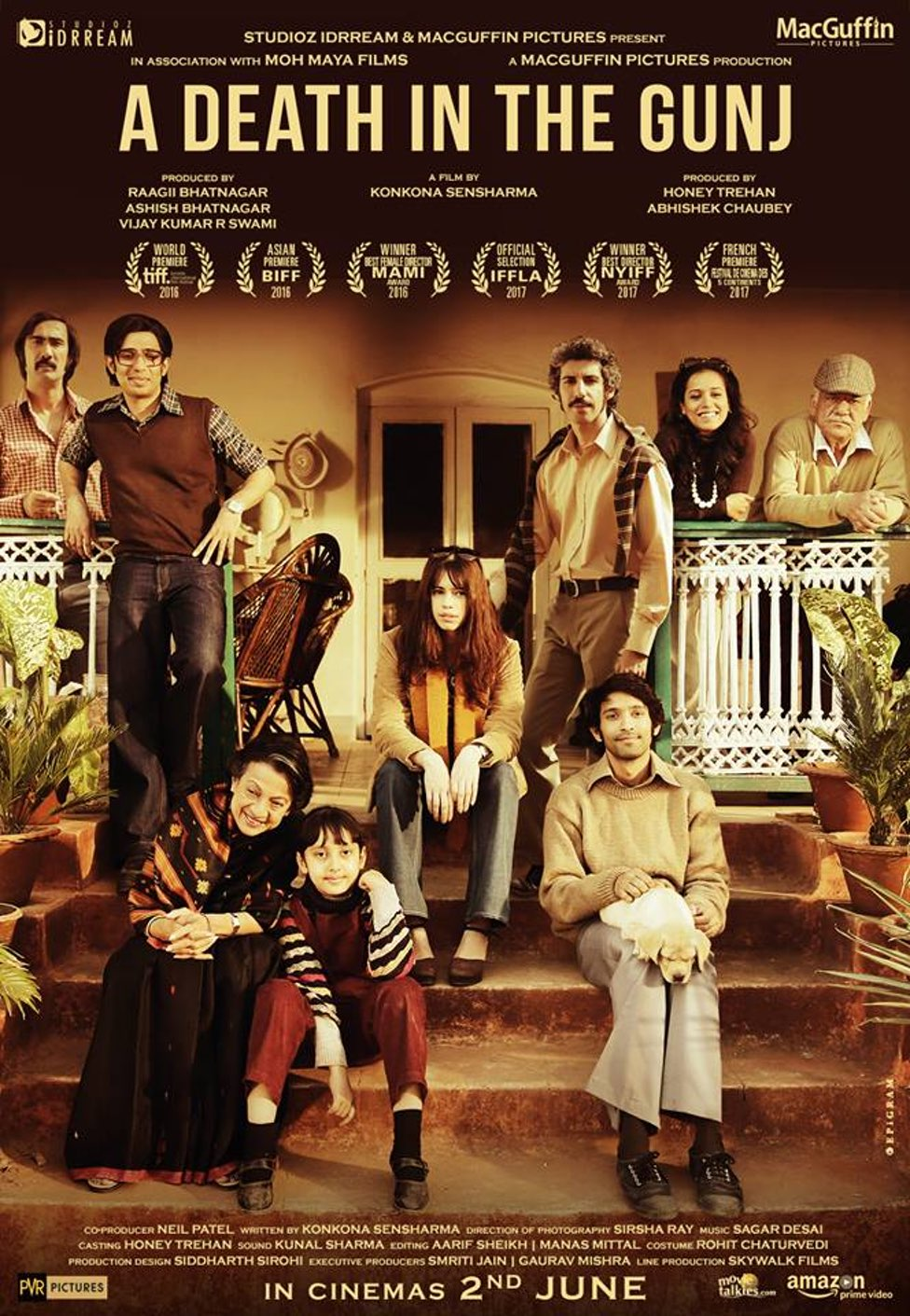 A Death in the Gunj (2017) - watch full hd streaming movie online free
